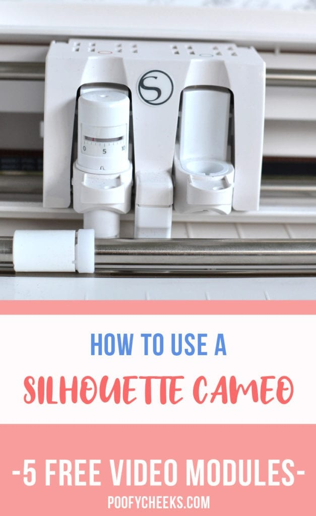Silhouette Challenge. A free 5-module course that will teach you how to use your Silhouette machine.