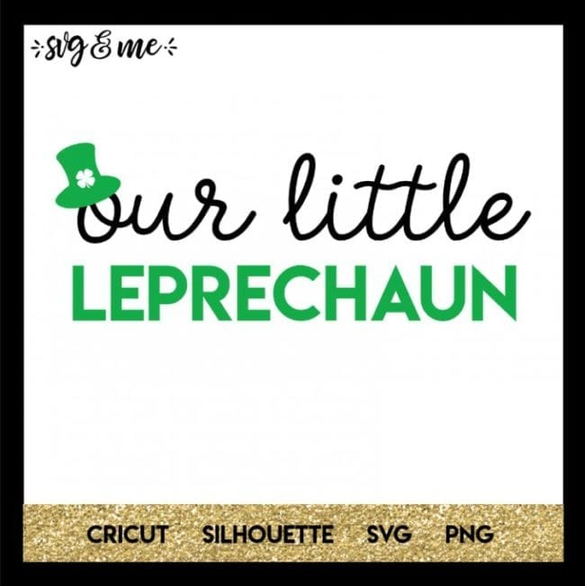 15 St. Patrick's Cut Files for Silhouette or Cricut Machines Poofycheeks.com