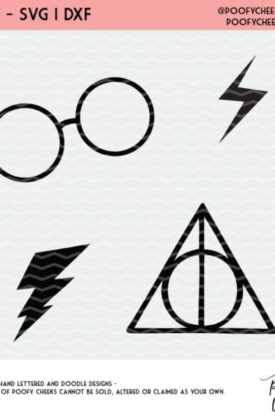 Harry Potter Inspired Cut Files and Fonts – For Silhouette and Cricut