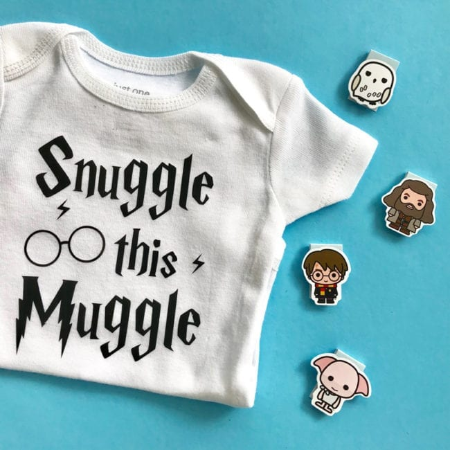 Harry Potter inspired cut files for Silhouette and Cricut cutting machines.