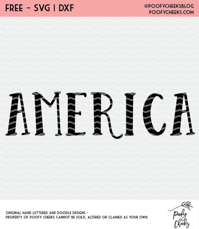America Cut File