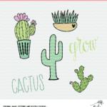 Cactus Cut File