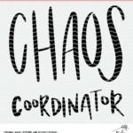 Chaos Coordinator cut file design.