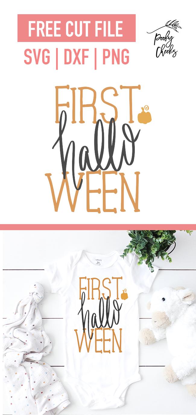First Halloween baby design