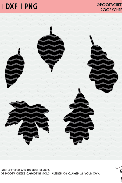 Fall Leaves Cut File – SVG | DXF | PNG