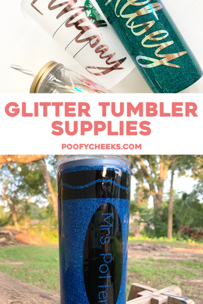 Epoxy Glitter Tumbler Supplies