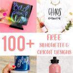 Cricut and Silhouette Designs