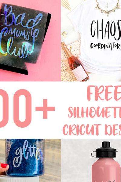 100+ Silhouette and Cricut Designs