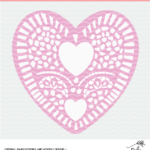 Heart Doily Cut File