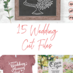 15 wedding season cut files - digiital designs