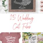 15 wedding season cut files - digiital designs