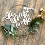 DIY Bridal Shower Hoop Tutorial