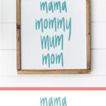 Mom Name Cut File