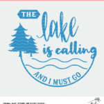 Lake Cut File - Digital Design
