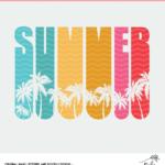 Summer Cut File Digital Design