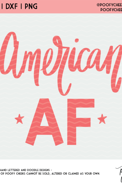 Flash Freebie American Cut File – SVG, DXF and PNG