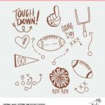 Football Cut Files - Digital Designs