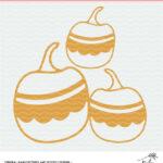 Free Fun Pumpkin Cut File Digital Download