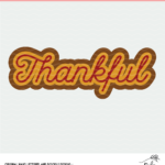Layered Thankful Cut File