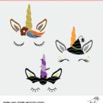 Fall Unicorn Cut File - Digital Design