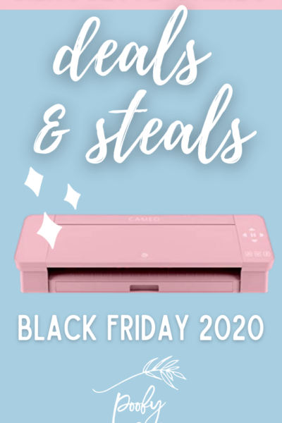 Silhouette Cameo Deals and Steals – Black Friday 2020