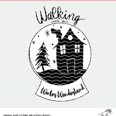 Walking in a Winter Wonderland Cut File
