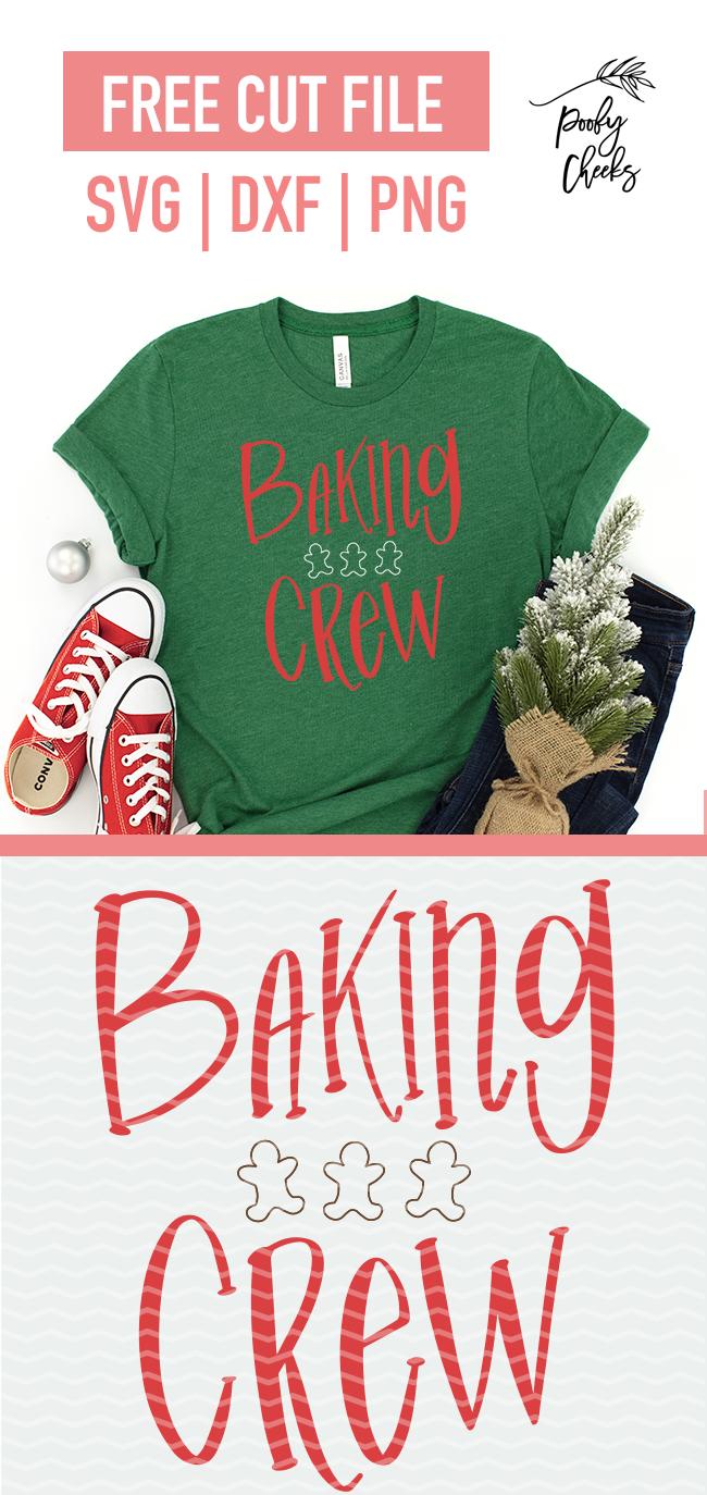 Free Baking Crew Cut File - Digital Design