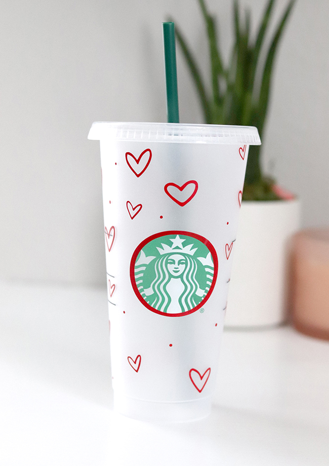 Starbucks Cup Cut File for Cold Cup
