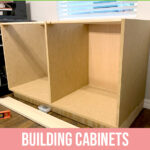 Building Cabinets - Built in Desk