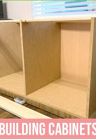Home Office Desk Build – Building Cabinets