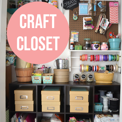 Craft closet Reveal
