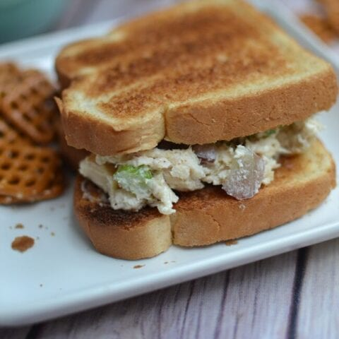 Homemade Chicken Salad with Grapes