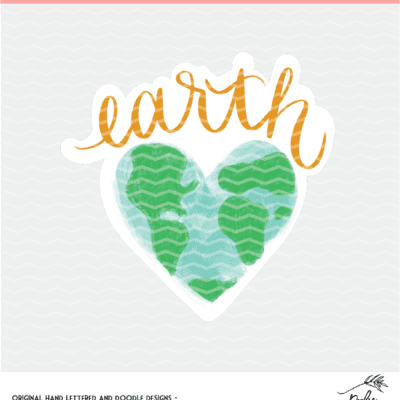 Earth Day Cut Files - Digital Design