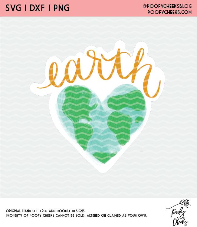 Earth Day Cut Files - Digital Design