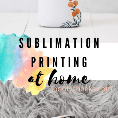 Sublimation Printing at Home