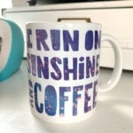 Cricut Infusible Ink Coffee Mug