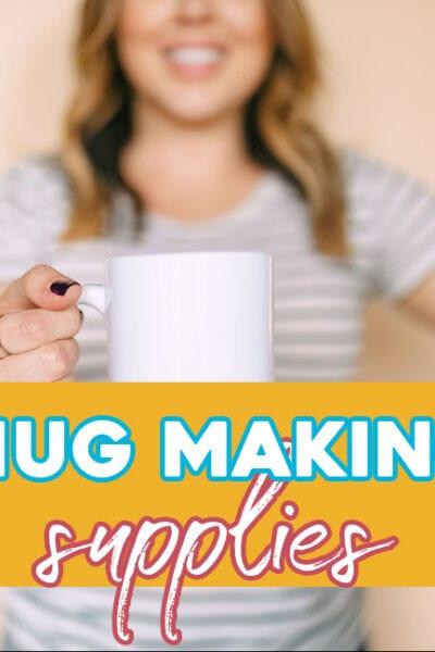 Mug Making Supplies – Sublimation, HTV, Infusible Ink Markers