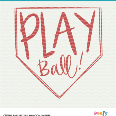 Play Ball Baseball Digital File