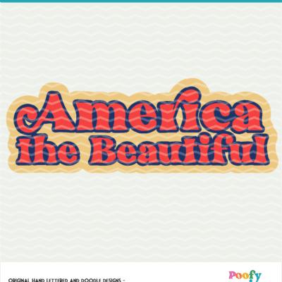 America the Beautiful Digital Design