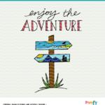 Enjoy the Adventure SVG Design