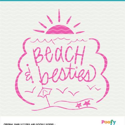 Beach Cut File Digital Design