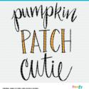 Pumpkin Patch Cut File