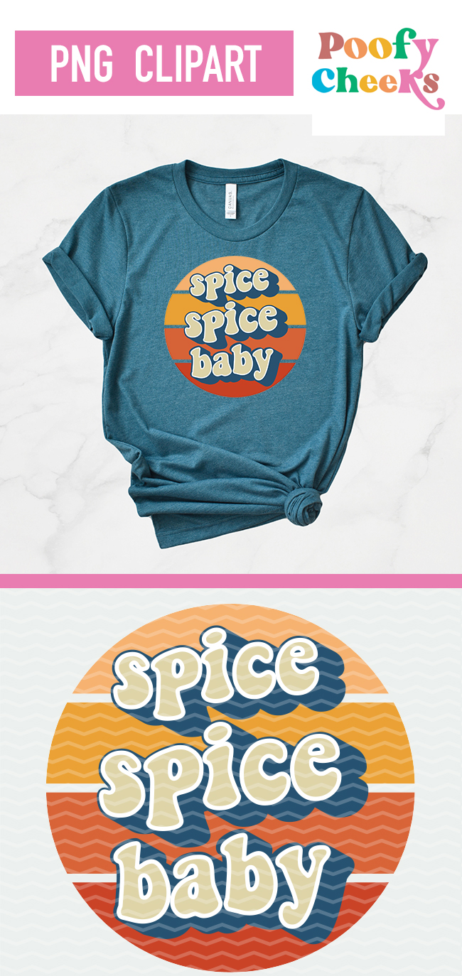 Spice Spice Baby PNG Clipart