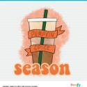 Fall Pumpkin Spice Season sublimation design