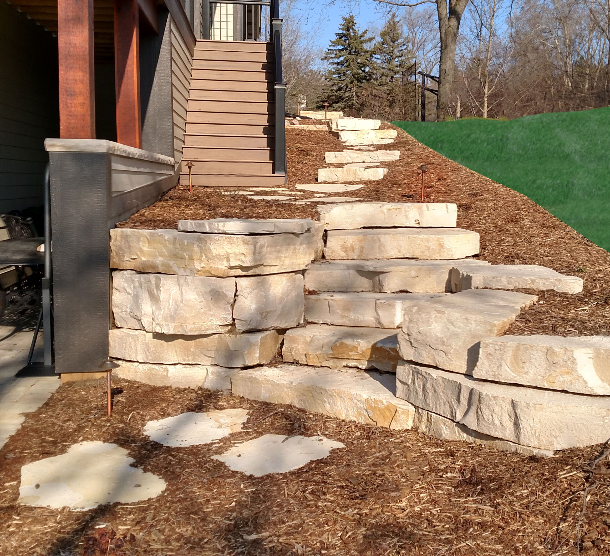 walkways by createscape landscaping