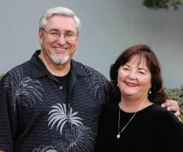 portrait of Dr. Mark Jackson and his wife Debra