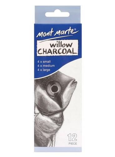 Willow Charcoal 12Pcs