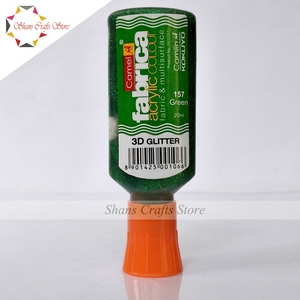 Camel Fabrica Acrylic Colour | 3D Glitter