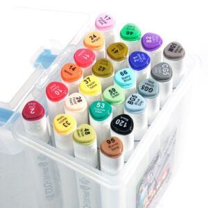Touch Soft Head Twin Marker Single Colours