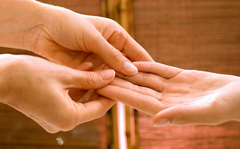 Hand Reflexology Image